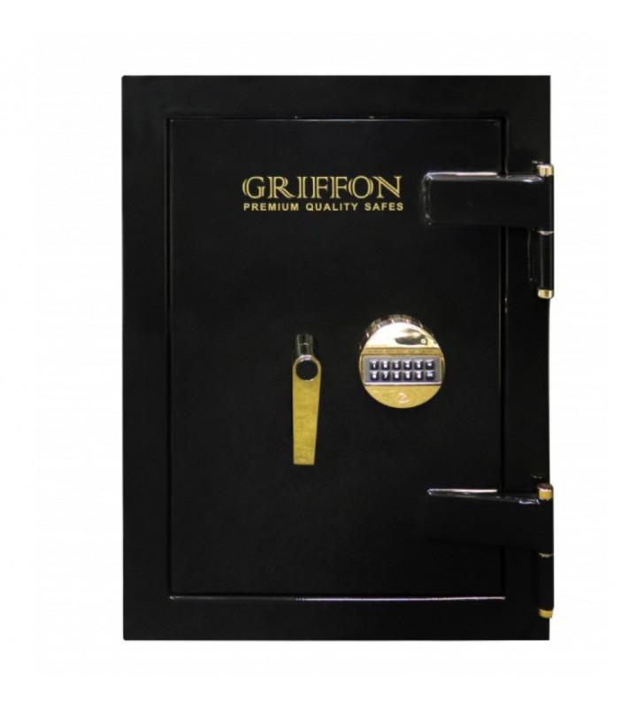 Sejf antywłamaniowy ognioodporny Griffon CLE.II.68.E BLACK GOLD Exclusive